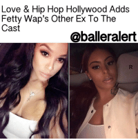 "Memes, 🤖, and Tmz: Love & Hip Hop Hollywood Adds  Fetty Wap's Other Ex To The  Cast  @balleralert Love & Hip Hop Hollywood Adds Fetty Wap's Other Ex To The Cast- blogged by: @eleven8 ⠀⠀⠀⠀⠀⠀⠀⠀⠀ ⠀⠀⠀⠀⠀⠀⠀⠀⠀ Love & Hip Hop Hollywood pulled a fast one on MasikaKalysha when they added her baby daddy's ex-girlfriend to the cast. ⠀⠀⠀⠀⠀⠀⠀⠀⠀ ⠀⠀⠀⠀⠀⠀⠀⠀⠀ According to TMZ, unbeknownst to Masika, AlexisSkyy has joined the cast of LHHH. Masika did not know about the new addition until Alexis rolled on set with Nikki Baby and Hazel-E this week. TMZ says that once Masika became aware of Alexis, she went ballistic, refusing to tape and said, ""I am not giving that f***ing peasant no airtime."" ⠀⠀⠀⠀⠀⠀⠀⠀⠀ ⠀⠀⠀⠀⠀⠀⠀⠀⠀ Masika reportedly stormed off the set, but sources say she will remain on the show, as she has a great storyline she'd like to share. ⠀⠀⠀⠀⠀⠀⠀⠀⠀ ⠀⠀⠀⠀⠀⠀⠀⠀⠀ Masika and FettyWap share a daughter who turns one later this month. Prior to his relationship with Masika, Fetty Wap had a highly publicized off and on relationship with Alexis Skyy."