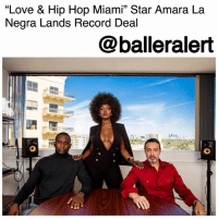 "⠀""Love & Hip Hop Miami"" Star Amara La Negra Lands Record Deal - blogged by @lanaladonna ⠀⠀⠀⠀⠀⠀⠀ ⠀⠀⠀⠀⠀⠀⠀ ⠀⠀⠀⠀⠀⠀⠀ ""Love & Hip Hop"" is back at it again! Just weeks after its premiere, the new Miami season is making its mark with its own breakout star. ⠀⠀⠀⠀⠀⠀⠀ ⠀⠀⠀⠀⠀⠀⠀ ⠀⠀⠀⠀⠀⠀⠀ Afro-Latina artist, AmaraLaNegra has had fans wrapped around her fingers since the premiere episode of LHHMIA with her beautiful brown skin, gorgeous hair, and her refusal to be a ""cookie cutter artist."" ⠀⠀⠀⠀⠀⠀⠀ ⠀⠀⠀⠀⠀⠀⠀ Well, ladies and gentlemen, it looks like we weren't the only ones to fall in love with her. According to billboardlatina, Amara La Negra has gotten herself a multi-album record deal with Fast Life Entertainment Worldwide and BMG. ⠀⠀⠀⠀⠀⠀⠀ ⠀⠀⠀⠀⠀⠀⠀ Amara's first single under contract will be released later on this year. Congratulations! ⠀⠀⠀⠀⠀⠀: ""Love & Hip Hop Miami"" Star Amara La  Negra Lands Record Deal  35  @balleralert ⠀""Love & Hip Hop Miami"" Star Amara La Negra Lands Record Deal - blogged by @lanaladonna ⠀⠀⠀⠀⠀⠀⠀ ⠀⠀⠀⠀⠀⠀⠀ ⠀⠀⠀⠀⠀⠀⠀ ""Love & Hip Hop"" is back at it again! Just weeks after its premiere, the new Miami season is making its mark with its own breakout star. ⠀⠀⠀⠀⠀⠀⠀ ⠀⠀⠀⠀⠀⠀⠀ ⠀⠀⠀⠀⠀⠀⠀ Afro-Latina artist, AmaraLaNegra has had fans wrapped around her fingers since the premiere episode of LHHMIA with her beautiful brown skin, gorgeous hair, and her refusal to be a ""cookie cutter artist."" ⠀⠀⠀⠀⠀⠀⠀ ⠀⠀⠀⠀⠀⠀⠀ Well, ladies and gentlemen, it looks like we weren't the only ones to fall in love with her. According to billboardlatina, Amara La Negra has gotten herself a multi-album record deal with Fast Life Entertainment Worldwide and BMG. ⠀⠀⠀⠀⠀⠀⠀ ⠀⠀⠀⠀⠀⠀⠀ Amara's first single under contract will be released later on this year. Congratulations! ⠀⠀⠀⠀⠀⠀"