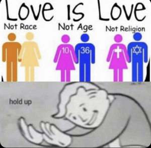 Love, Memes, and Shit: LOve is Love  Not Age  Not Religion  Not Race  10 36  hold up Holy shit many memes