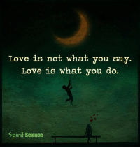 Memes, Science, and Spirit: Love is not what you say.  Love is what you do.  Spirit Science I just watched a movie... That changed my life forever... I will never forget the day that I saw this short movie because it's reshaping the way I think about just about everything. You can watch it right here... http://bit.ly/manifestyrdr1