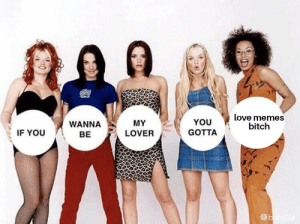 Bitch, Love, and Memes: love memes  bitch  YOU  MY  WANNA  GOTTA  IF YOU  LOVER  BE  ge You can just carry on if you don't like memes