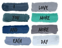 Love, Day, and More: LoVE  MORE  MORE  DAY  AND  EA(H