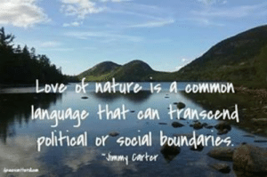 Love, Tumblr, and Blog: Love  nature 1s a cDwMon  language that oan ranscend  olitical or social boundaries devoesontheroll:  Love of nature is a common language that can transcend political or social boundaries.  #nature #noboundaries #greatquotes