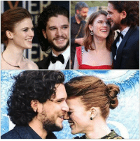 Hbo, Love, and Memes: Love seeing them together . . . . . . . thronesmemes gameofthrones asoiaf got hbo gameofthronesfamily gameofthroneshbo gameofthronesfan gameofthronesmemes gotmemes jonsnow kitharington roseleslie ygritte
