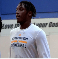 Myles Turner has been working on his 3-PT Pull-up....scary 👀 #ballislife https://t.co/lIE3v58WFd: Love th  ADANA PACERS  ASKETBALL Myles Turner has been working on his 3-PT Pull-up....scary 👀 #ballislife https://t.co/lIE3v58WFd