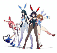 Bunnies, Dank, and Kill La Kill: Love the Kill la Kill girls in bunny outfits? we have a figure of Ryuko Matoi in one http://jli.st/2itJgDs  Art http://jli.st/2jgn2C3
