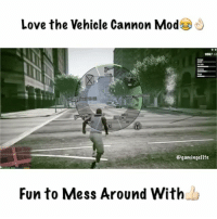 Halo, Memes, and 🤖: Love the Vehicle Cannon Mod  Ogamingellte  Fun to Mess Around With This ones been out for a while, but you just don't get bored of it😄———————————————————— 🎶Song : Idk-None😅 ———————————————————— 💯Follow Us For the BEST Gaming Clips from around the world 👇🏻Share this with your friends ✌🏻️Creds: TestedMods YT ———————————————————— Partners: ▶️ @gameclips.ig ▶️ @ae.swizy ▶️ @gtaeditor ️▶️ @thegamingclips ———————————————————— gaming xboxone callofduty playstation ps4 blackops3 bo3 xbox360 ps3 xbox videogames advancedwarfare clashofclans blackops2 cod psn halo playstation gamer bo2 gta5 mlg meme pokemongo pokemon minecraft gta gtav gtaonline