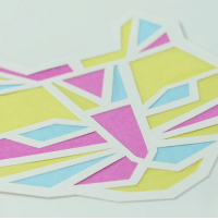 Dank, Glasses, and Crafty: Love this stained glass paper DIY! #crafty