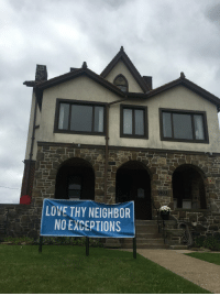 Love, Memes, and Pittsburgh: LOVE THY NEIGHBOR  NO EXCEPTIONS RT @tomhanks: The Spirit of Pittsburgh!  Great town.  Hanx. https://t.co/Yn1GanTX2g