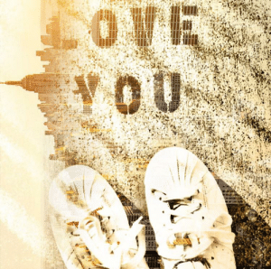 Love, Pictures, and How: LOVE  VOU Merged two pictures together. How does it look?