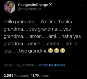 Love you Grandma: Love you Grandma