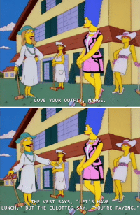 """Love, Target, and Tumblr: LOVE YOUR OUTFIT MARGE.   THE VEST SAYS, """"LET'S HAVE  LUNCH BUT THE CULOTTES SAY, YOU RE PAYING."""" bussykween:  promotional-kitten-baskets:  My desired aesthetic  Heathers (1988)"""