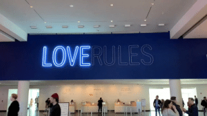Gnight! I made you this in Brooklyn over the weekend! (Neon Sculpture, LOVE RULES by Hank Willis Thomas) (🎵 Let It All Work Out by @LilTunechi) https://t.co/fMg2acgWG7: LOVERULES  Group Cneck in Gnight! I made you this in Brooklyn over the weekend! (Neon Sculpture, LOVE RULES by Hank Willis Thomas) (🎵 Let It All Work Out by @LilTunechi) https://t.co/fMg2acgWG7