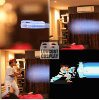 lonely man and his hadouken: LOW COST  COSPLAY lonely man and his hadouken