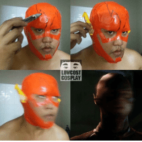 Dank, 2017, and Cosplay: LOW COST  COSPLAY Lonely man and speed force at New year 2017