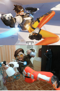 LOW COST  COSPLAY PLAY OF THE GAME Overwatch  #แอดมินเช็ดขี้