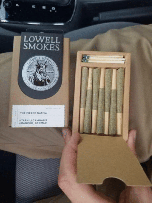 Box, The Box, and Fit: LOWELL  SMOKES  THE FIERCE SATIVA  TARHILLCANNABIS  ERANCHO ECOMAR The way these joints fit in the box