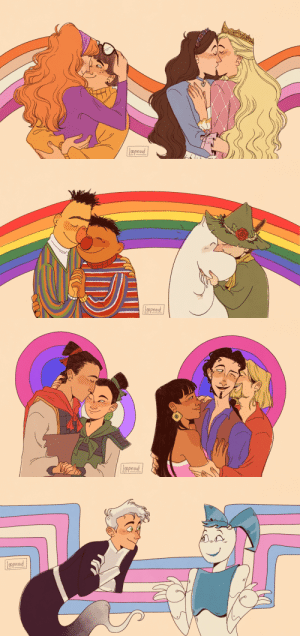 loopnoid: your childhood is gay, and there's nothing you can do about it! or, a celebration of some children's characters we love to relate to (even if it makes cishets mad). hope you all had a happy pride month 🌈   Not hating just pointing outBert and Ernie are platonic BFF's Velma likes shaggy And Daphnie likes Fred I also hope you all had a happy pride month 😀: Lppnord   aprod   Lpoproud   Loproad loopnoid: your childhood is gay, and there's nothing you can do about it! or, a celebration of some children's characters we love to relate to (even if it makes cishets mad). hope you all had a happy pride month 🌈   Not hating just pointing outBert and Ernie are platonic BFF's Velma likes shaggy And Daphnie likes Fred I also hope you all had a happy pride month 😀