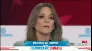 electrovert:anime protagonists explaining to the villain how they're going to win with the power of love and friendship: LRE  MNBONEWS  MARIANNE WILLIAMSON  UTHGS  DEMOCRATIC DEBATE electrovert:anime protagonists explaining to the villain how they're going to win with the power of love and friendship
