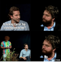 Carrot Top texts whenever and wherever he wants to.  Between Two Ferns with Zach Galifianakis: Bradley Cooper http://bit.ly/2oOluQU: ls fucking Carrot Top  standing behind me?  No.  Y DIE Carrot Top texts whenever and wherever he wants to.  Between Two Ferns with Zach Galifianakis: Bradley Cooper http://bit.ly/2oOluQU