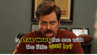 Is Star Wars the one with the little wizard boy?: ls STAR WARS the one with  the little  wizard  bohD Is Star Wars the one with the little wizard boy?