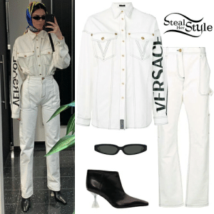 Kendall Jenner Clothes & Outfits   Steal Her Style: lStyle  Steal  Her  OneV  VERSACE Kendall Jenner Clothes & Outfits   Steal Her Style