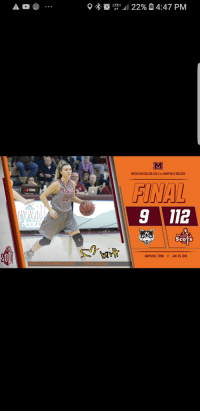Basketball, College, and Yeah: LTE+  WESLEYAN COLLEGE (GA.) vs.MARYVILLE COLLEGE  FINAL  9 112  POSS  es  23  ScoTs  MARYVILLE, TENN.  JAN. 20, 2019  MARYVILLE COLLEGE WOMEN'S BASKETBALL  0-10 (8-3 USA Sauth)