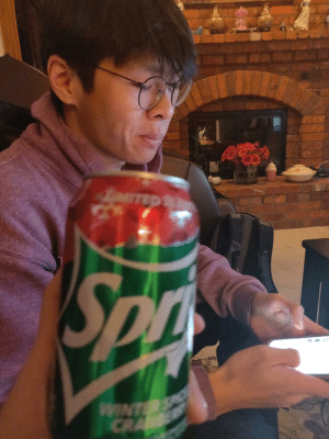 Cracking a cold one with the bois: LTED  Son  WINTE  CRA Cracking a cold one with the bois