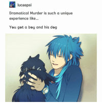 I mean... I never knew that other part of the game??? I knew aoba was a hoe but damn fam...: lucaspsi  Dramatical Murder is such a unique  experience like...  You got a boy and his dog I mean... I never knew that other part of the game??? I knew aoba was a hoe but damn fam...
