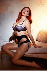 Collett lucy Hot redhead