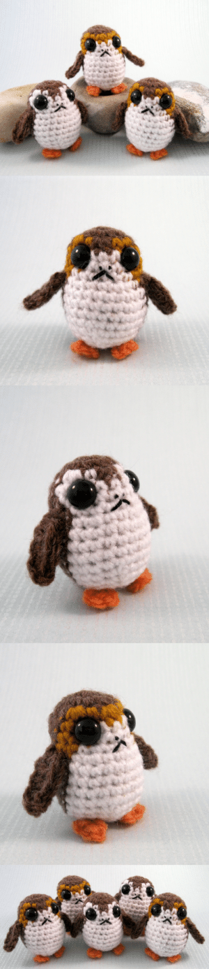 lucyravenscar:  My pattern to make a porg, the cute little birds from the latest Star Wars film, The Last Jedi, is now available on Etsy and Ravelry. It gives you all the information to make them with different colour variations - all the details are on my blog: http://lucyravenscar.blogspot.co.uk/2018/01/porgs-new-star-wars-pattern.html  : lucyravenscar:  My pattern to make a porg, the cute little birds from the latest Star Wars film, The Last Jedi, is now available on Etsy and Ravelry. It gives you all the information to make them with different colour variations - all the details are on my blog: http://lucyravenscar.blogspot.co.uk/2018/01/porgs-new-star-wars-pattern.html