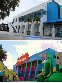 Funny, Nickelodeon, and Depression: LUE MAN GROU Nickelodeon Studios 20 years ago vs. Nickelodeon Studios today... this is depressing