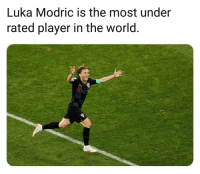 This is so true ⚽️🔥👀: Luka Modric is the most under  rated player in the world  l0 This is so true ⚽️🔥👀