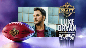 Luke Bryan will be performing as part of @Verizon #PayItForwardLIVE.  Tune in to the 2020 @NFLDraft this Saturday at 12pm ET to @nflnetwork @espn @ABCNetwork   @LukeBryanOnline https://t.co/s4zgKM6t2v: Luke Bryan will be performing as part of @Verizon #PayItForwardLIVE.  Tune in to the 2020 @NFLDraft this Saturday at 12pm ET to @nflnetwork @espn @ABCNetwork   @LukeBryanOnline https://t.co/s4zgKM6t2v