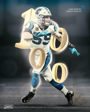 .@LukeKuechly: The FASTEST player to reach 1K career tackles since 2000. 💪  @Panthers | #KeepPounding https://t.co/4R7Z7Lb9Yg: LUKE KUECHLY  CAREER TACKLES .@LukeKuechly: The FASTEST player to reach 1K career tackles since 2000. 💪  @Panthers | #KeepPounding https://t.co/4R7Z7Lb9Yg