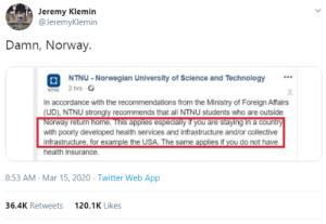 luludemauryyy:  gahdamnpunk:  Lmfaaooooo Norway just called the US a dusty ass bitch  and they ain't wrong    Hi yeah as an American I'd like to confirm this statement : luludemauryyy:  gahdamnpunk:  Lmfaaooooo Norway just called the US a dusty ass bitch  and they ain't wrong    Hi yeah as an American I'd like to confirm this statement