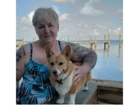 Tumblr, Blog, and Florida: Lumi corgikistan:  While vacationing in Florida, meet my new little fren, Twinkie