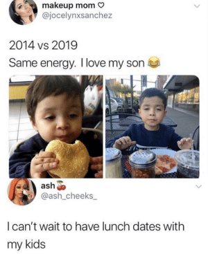 Lunch dates with her son: Lunch dates with her son