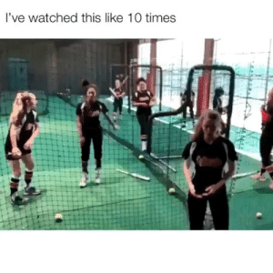 Memes, Twitter, and Okay: l've watched this like 10 times Uhh is she okay?! Credit: sydneykaai -twitter