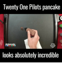 Memes, 🤖, and Looking: lwenty Une Pilots pancake  drdancake  DANCAKES  looks absolutely incredible I love this