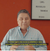 Memes, Mean, and Movie: LWL  ROGELO  RAMOS  DISO  So if the man in the movie is unfaithful or does  something mean it's a big deal, because then she starts Mi Mujer Tiene Un Problema... My Wife Has A Problem. Cast: Rogelio Ramos Show Jenny Treviño & El Bebote