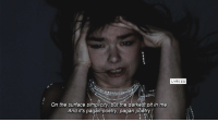 [a] Björk - Pagan Poetry: LYRICS  On the surface simplicity, but the darkest pit in me  And it's pagan poetry, pagan poetry [a] Björk - Pagan Poetry