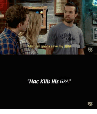 """College, Finals, and Meme: M  ac: Im gonna save my  GP  """"Mac Kills His GPA"""" <p>With finals week approaching for college students, this meme could have high but short lived resale potential via /r/MemeEconomy <a href=""""http://ift.tt/2AO0C3Y"""">http://ift.tt/2AO0C3Y</a></p>"""