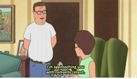 hank_irl: m approaching you  with romantic intent hank_irl