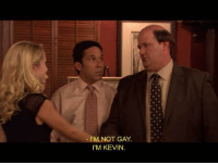 kevin: 'M NOT GAY  I'M KEVIN.