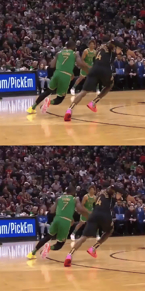👀 Jaylen Brown's handles!  https://t.co/nN0drsyq9G: m/PickEm   057  45  7.  m/PickEm 👀 Jaylen Brown's handles!  https://t.co/nN0drsyq9G