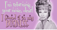 Memes, Watch, and Watches: m returning  your nose Watch the glorious Agnes Moorehead as Endora on Bewitched weekdays at 3p ET on Antenna TV.