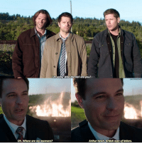 """Arthur, Memes, and Supernatural: m sorny Who the hell are you?  SAVINGDEAN  Oh. Where are my manners?  Arthur Ketch, British men of letters. QOTD- write """" where are my """" and press the middle word suggestion button 🌼 - [ spn spnfamily supernatural arthurketch jensenackles jaredpadalecki castiel mishacollins ]"""