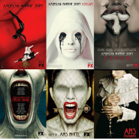 American Horror Story, Memes, and Vans: M THE  HORROR RS or GLEE  AMERICAN HORROR STORY ASYLUM  AMERICAN STORY  WEDS 10  OCT 17  FX  ntertainment  FX  JESICA LANG!  SAPAM PAULSON  KATHY BA  AN  A BA  RANCt3 CONROY  AMERICAN MORROR STORY  FREAK  MICHAEL CMIKLI  VAN Pl  NN WITTRECK  PATTI  OCT 8  OCT 7 AHS HOTEL FK  FEARLESS  301CA LANG!  KATHY BAT  SARAH PAUL) N  VAN P  MMA RestrT  TAISA TARMIGA ANGLLA BAN  AMERICAN HORROR STORY  OCT 9  AHS  ROANOKE Which season was your all time favorite? AHSmurderhouse AHSasylum AHScoven AHSfreakshow AHShotel AHSroanoke