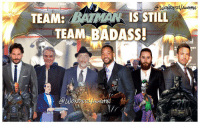 "J.K. Simmons, Memes, and Will Smith: /m  @WONDERVAucttN  TEAM: WMA/ ISSTILL  驯( ISSTILL  TEAM-BADASS!  av  e  @Wo  werH  희 SMART MOVE Ben Affleck! I fully respect and understand @benaffleck's decision to step away from SOLELY directing THE BATMAN in order to make a better Batman film. He will continue on as writer, producer and main star! * ""There are certain characters who hold a special place in the hearts of millions. Performing this role demands focus, passion and the very best performance I can give. It has become clear that I cannot do both jobs to the level they require. Together with the studio, I have decided to find a PARTNER in a director who will collaborate with me on this massive film. I am still in this, and we are making it, but we are currently looking for a director. I remain extremely committed to this project, and look forward to bringing this to life for fans around the world."" - Ben Affleck * Which DIRECTOR would you like to see take on ""The Batman""? * @joemanganiello as DeathStroke Jeremy Irons as AlfredPennyworth J.K. Simmons as CommissionerGordon Will Smith as Deadshot (may have a small cameo) @jaredleto as Joker (may have a small cameo) Ben Affleck as Batman ***"